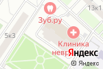 Схема проезда до компании АйТиСтом в Москве