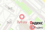 Схема проезда до компании Anticafe Magic Cloud в Москве