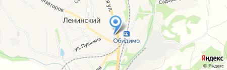 Домовой на карте Барсуков