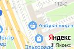 Схема проезда до компании Pause в Москве