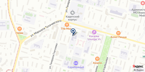 Pirouette на карте Москве