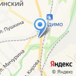 Детство на карте Ленинского