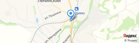 Табак на карте Барсуков