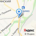 Киоск по продаже фастфуда на карте Ленинского