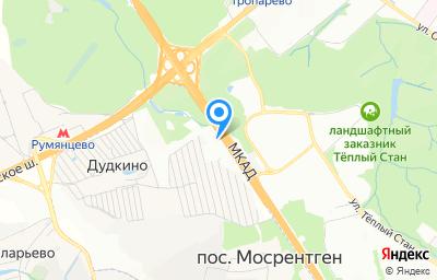 Местоположение на карте пункта техосмотра по адресу г Москва, Мосрентген п, кв-л 6, д 10