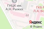 Схема проезда до компании Дмитров-Монолит в Москве