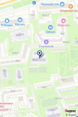 ШКОЛА СРЕДНЕГО ОБЩЕГО ОБРАЗОВАНИЯ № 58 на карте Москвы