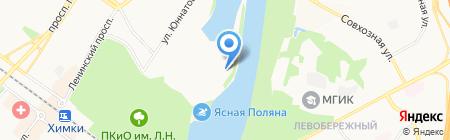 Маяк на карте Химок