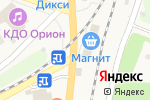 Схема проезда до компании Модница в Ленинском