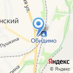 ЗАГС Ленинского района на карте Ленинского