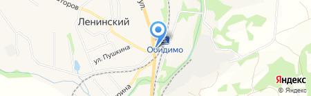Магазин женской одежды на карте Барсуков