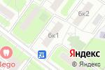 Схема проезда до компании Промбытсервис в Москве