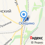 Магазин цветов и подарков на карте Ленинского