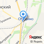 Магнит на карте Ленинского