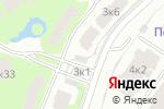 Схема проезда до компании Hines Pokrovsky 1 в Москве