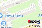 Схема проезда до компании Sushi Tayo в Москве