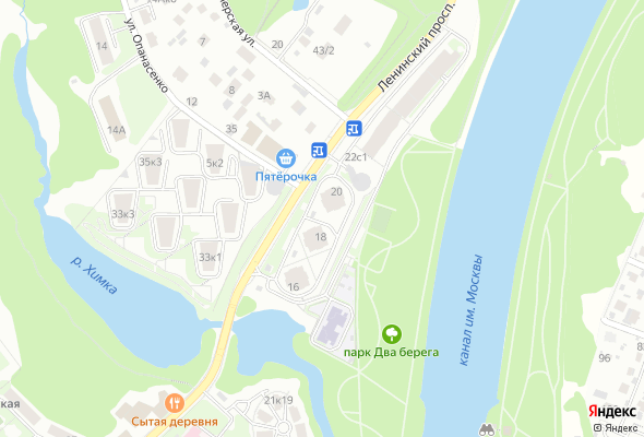 жилой комплекс на Ленинском проспекте