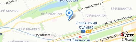 СОСЛОВИЕ на карте Москвы