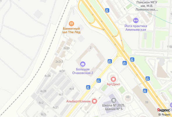 жилой комплекс Большая Очаковская 2