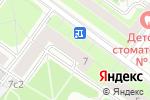 Схема проезда до компании Eshka в Москве