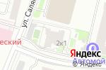Схема проезда до компании Серволюкс в Москве