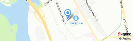 ТрансИнтерЛогистик на карте Москвы
