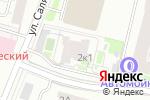 Схема проезда до компании АРТДИЗАЙН Групп в Москве