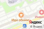 Схема проезда до компании Декор Потолок в Москве