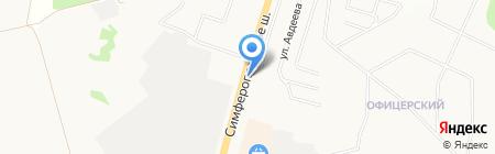 АЗС Экспресс-сервис на карте Чехова