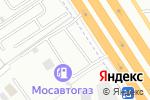 Схема проезда до компании АГЗС Мосавтогаз в Москве