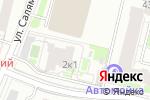 Схема проезда до компании Ракита в Москве