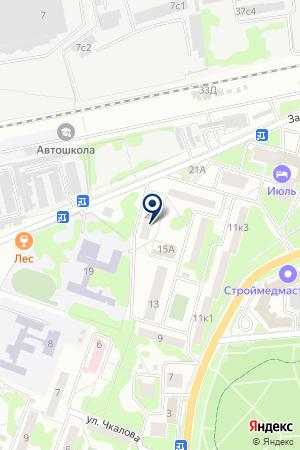 ЖСК ВОСТОК на карте Лобни