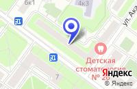 Схема проезда до компании ТФ СПАРРК в Москве