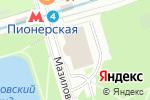 Схема проезда до компании Ашан в Москве