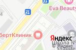 Схема проезда до компании Т в кубе в Москве