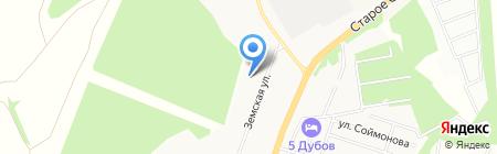 Магазин нижнего и постельного белья на Земской на карте Чехова