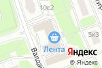 Схема проезда до компании Спарта в Москве