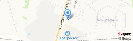 Мастерок на карте Чехова