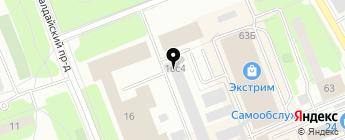 Топ Систем на карте Москвы