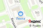 Схема проезда до компании Димос в Москве