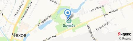 Дружба на карте Чехова