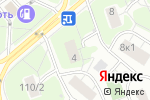 Схема проезда до компании Проффиш в Москве
