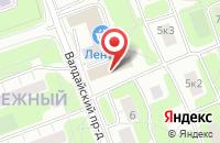 Схема проезда до компании Живая Капля в Москве