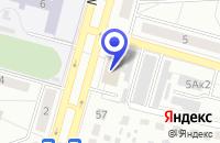 Схема проезда до компании ПТФ НЕДРЫ в Чехове