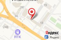 Схема проезда до компании Ателье в Иншинском