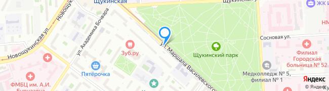 улица Маршала Василевского