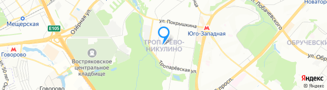 район Тропарёво-Никулино