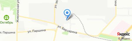 ФК Финком на карте Москвы