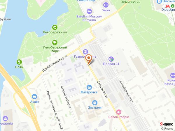 Остановка Интернат в Москве