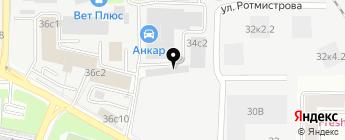 Новатор на карте Москвы